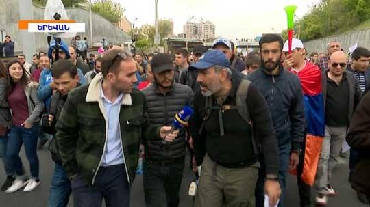 Այսօր ցուցարարները բողոքի ակցիանները սկսել են մայրաքաղաքի տարբեր կետերից