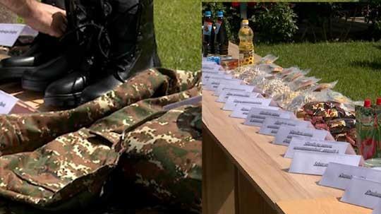 Նոր ճտքակոշիկներ զինծառայողների համար. թարմացվել է նաև սննդակարգը