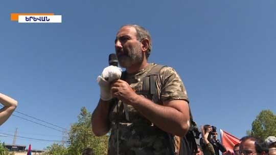 Նիկոլ Փաշինյանը պատրաստվում է Հայաստանում թավշյա հեղափոխություն անել